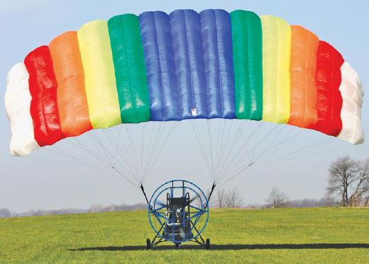 Figure 3-104. Powered parachute wing trailing edge.