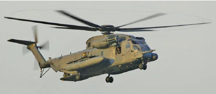 Figure 3-93. Air Force CH-53 in a hover.