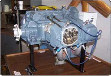 Figure 1-1. A typical four-cylinder opposed engine.
