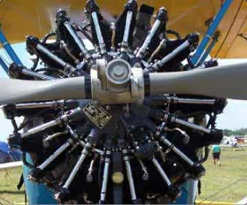 Figure 1-2. Radial engine.