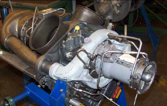Figure 1-78. Turboshaft engine.