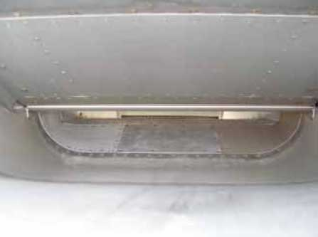 Figure 3-33. Deflector doors used to deflect ice or dirt away from the intake.