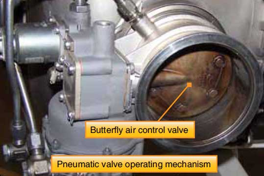 Figure 5-23. Regulating and shutoff bleed valve.