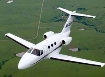 Figure 1-10. The nearly all composite Cessna Citation Mustang very light jet (VLJ).