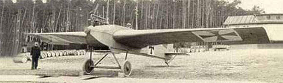 Figure 1-6. The Junker J-1 all metal construction in 1910.