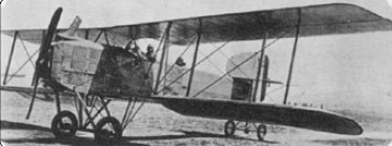 Figure 1-7. World War I aircraft were typically stacked-wing fabriccovered aircraft like this Breguet 14 (circa 1917).