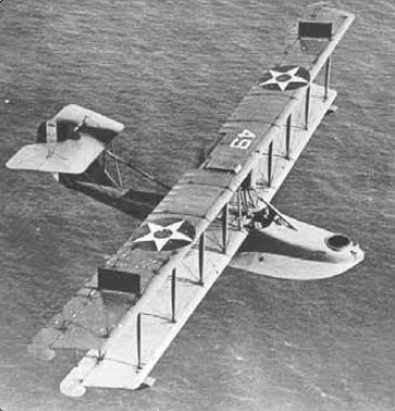 Figure 1-8. The flying boat hull was an early semimonocoque design like this Curtiss HS-2L.