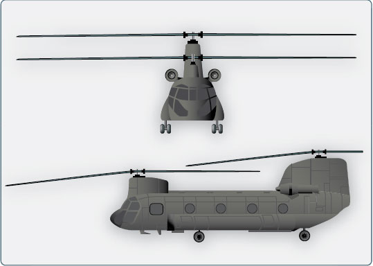 Figure 2-26. Dual rotor helicopter.