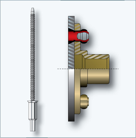 Figure 4-102. Friction-lock blind rivet.