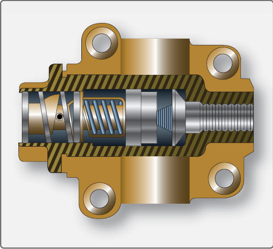 Figure 6-41. Typical thermostatic bypass valve.