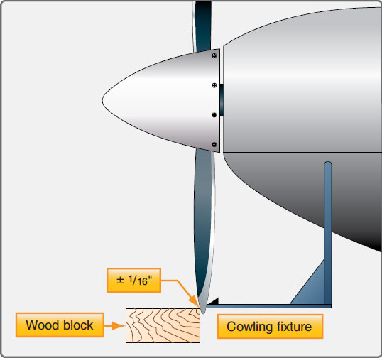 Figure 7-34. Propeller blade tracking.