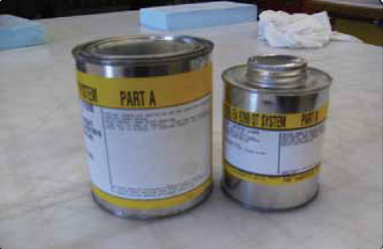 Figure 7-15. Two-part paste adhesive.