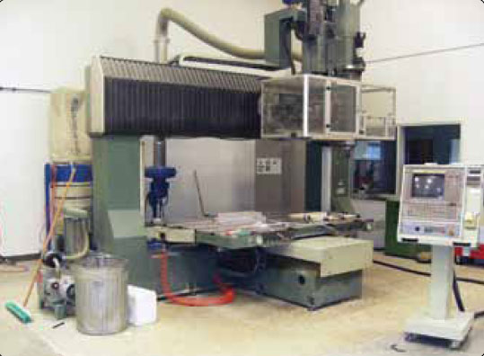 Figure 7-33. Five-axis CNC equipment for tool and mold making.