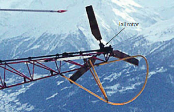 Figure 3-86. Aerospatiale helicopter tail rotor.