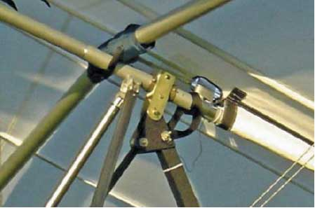 Figure 4-38. Wing attach point for a weight-shift aircraft.