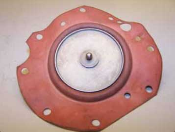 Figure 2-33. Fuel diaphragm with ball valve attached.