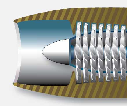 Figure 3-26. An inlet duct acts as a diffuser to decrease the airflow velocity and to increase the static pressure of air.