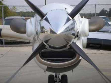Figure 3-32. An example of a ducted arrangement on a turboprop engine.