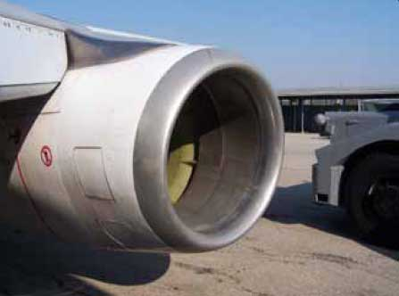 Figure 3-34. A typical turbofan intake section.