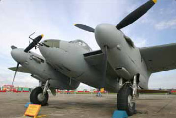 Figure 1-9. The DeHavilland Mosquito, the first aircraft with foam core honeycomb in the fuselage.