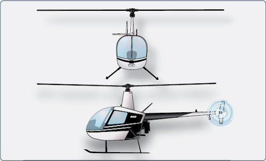 Figure 2-25. Single rotor helicopter.