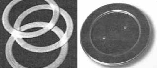 Figure 3-8. Inspection rings and an inspection cover.