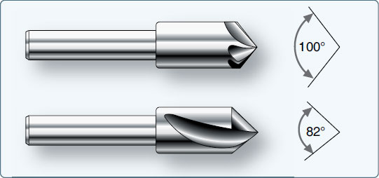 Figure 4-84. Countersinks.