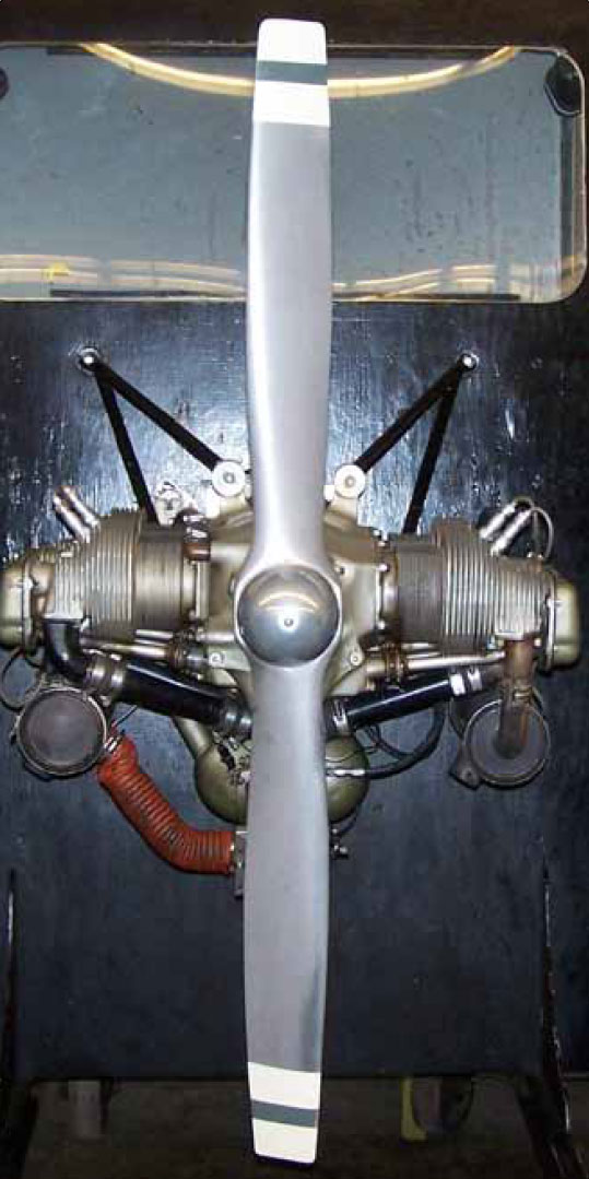 Figure 7-11. Fixed-pitch propeller.