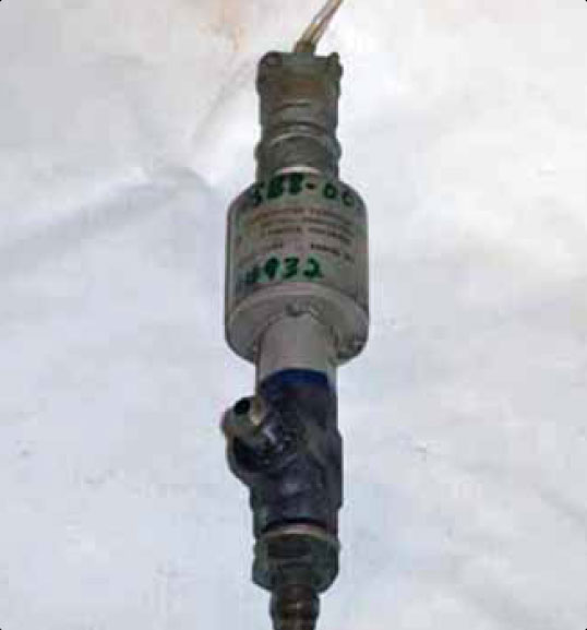 Figure 10-20. A pressure switch can be used in addition to, or instead of, a pressure gauge.