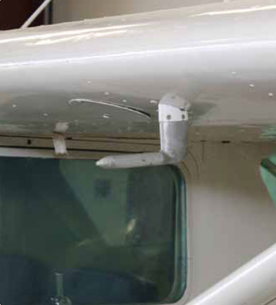 Figure 10-24. Pitot-static system heads, or pitot tubes, can be of various designs and locations on airframes.