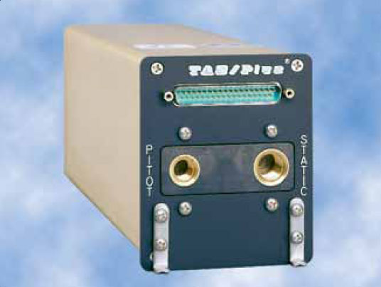 Figure 10-28. Teledyne's 90004 TAS/Plus air data computer (ADC) computes air data information from the pitot-static pneumatic system, aircraft temperature probe, and barometric correction device to help create a clear indication of flight conditions.