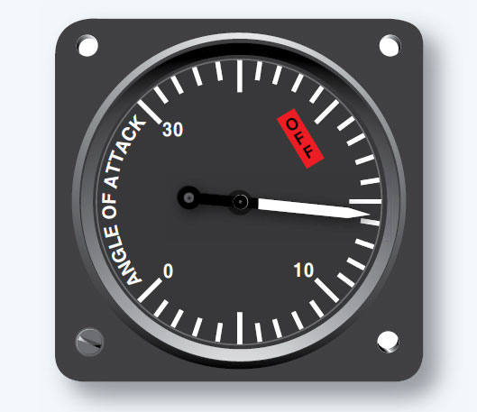 Figure 10-63. Angle of attack indicator.
