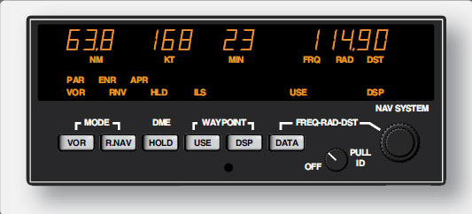 Figure 11-124. RNAV unit from a general aviation aircraft.