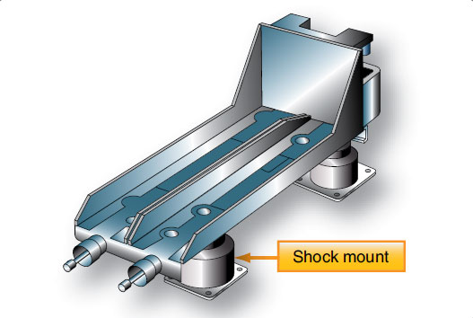 Figure 11-158. A shock mounted equipment rack is often used to install avionics.