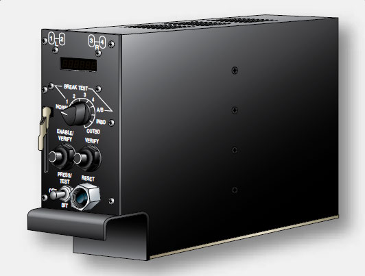 Figure 13-108. A rack mounted antiskid control unit from an airliner.