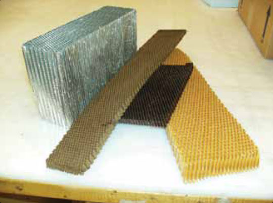 Figure 7-19. Honeycomb core materials.