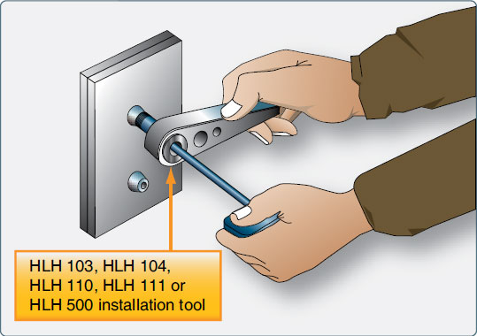 Figure 7-78. Hi-Lok® installation.