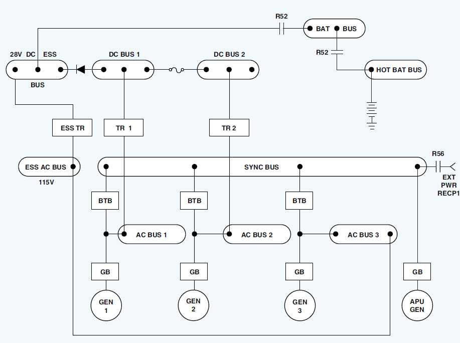 Figure 9-105. Parallel power distribution system.