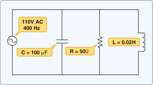 Figure 9-29. Total impedance of parallel circuit.