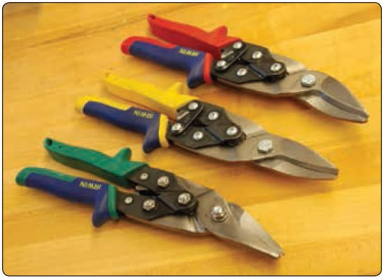 Figure 11-13. Typical snips.