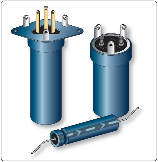 Figure 12-119. Electrolytic capacitors.