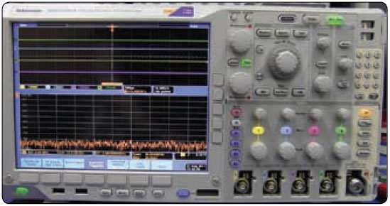 Figure 12-168. Oscilloscope with flat panel display.