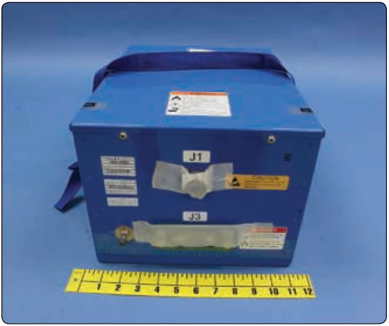 Figure 12-200. Boeing 787 lithium-ion battery.